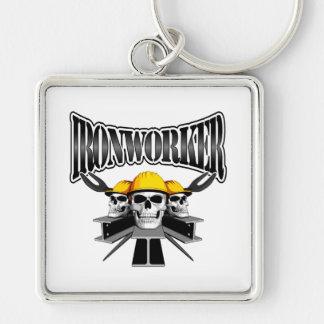 Ironworker Skulls Keychain
