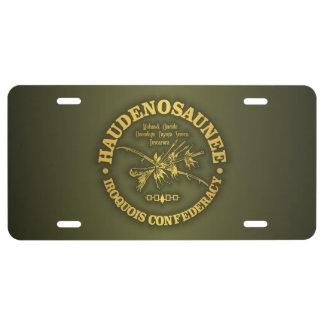 Iroquois Confederacy (Haudenosaunee) License Plate