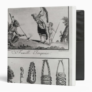 Iroquois family, arms and ornaments binder