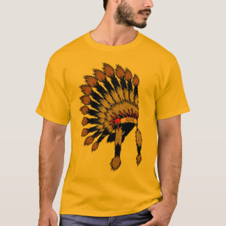 Iroquois to war bannet T-Shirt