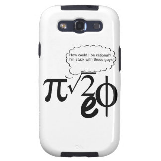 Irrational Buddies Samsung Galaxy S3 Cover