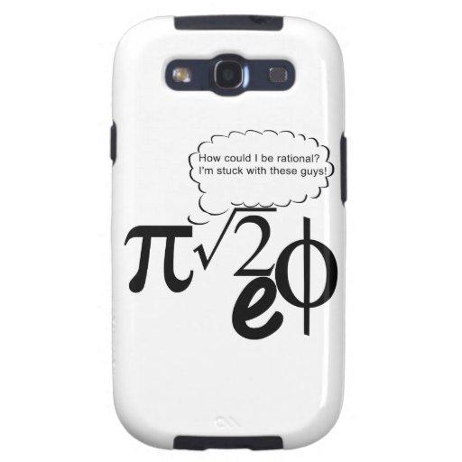 Irrational Buddies Samsung Galaxy SIII Cases