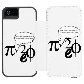 Irrational Buddies Incipio Watson™ iPhone 5 Wallet Case