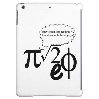 Irrational Buddies iPad Air Cover