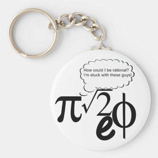 Irrational Buddies Keychains