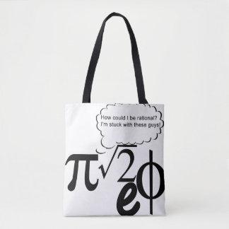 Irrational Buddies Tote Bag