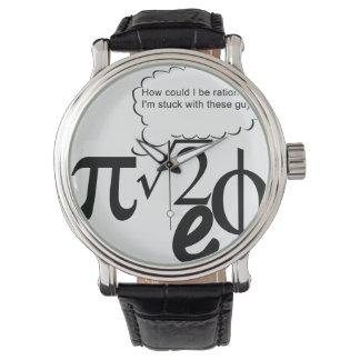 Irrational Buddies Wristwatches