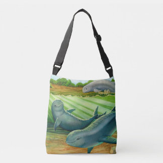 Irrawaddy River Dolphin Crossbody Bag