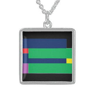 Irregular Stripes Pendant