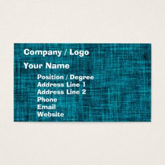 Irregular Weave Fabric Business Card