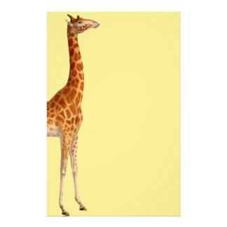 Irresistable Giraffe Stationery