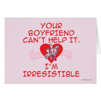 Irresistible Card