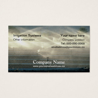 Irrigation business card