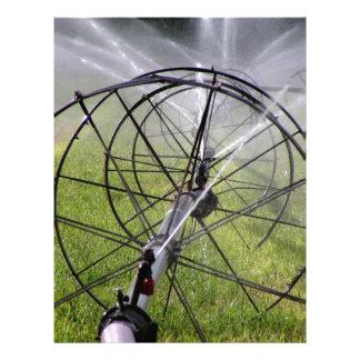 Irrigation Wheel Line Letterhead