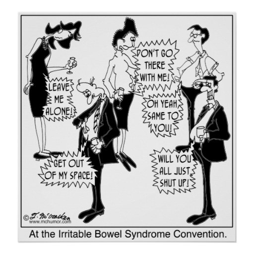 Irritable Bowel Syndrome Convention Print