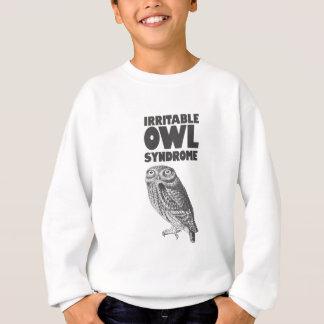 Irritable Owl. Funny pun Sweatshirt