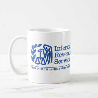 IRS American Dream Satire Mugs