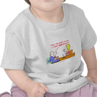irs joke's on you tshirts