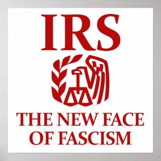 IRS Le nouveau visage du fascisme Poster