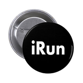 iRun 2 Inch Round Button