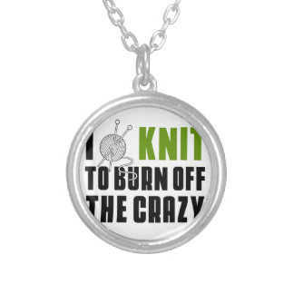 irun to burn off the crazy silver plated necklace