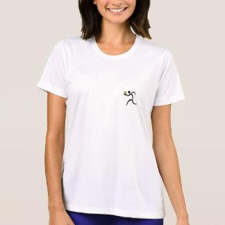 IRunToDrink Womans Tech Running Shirt