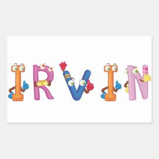 Irvin Sticker
