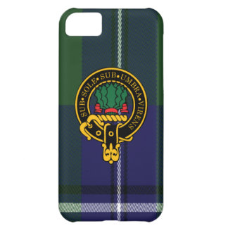 Irvine Scottish Crest and Tartan iphone i5C case