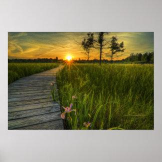 Irwin Prairie Sunset Poster