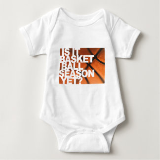 Is It Basketball Season Yet? Baby Bodysuit