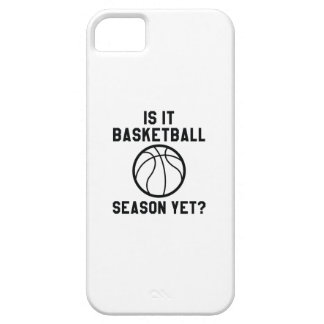 Is It Basketball Season Yet? iPhone 5 Case