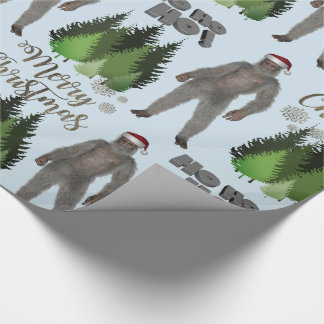 Is It Christmas Yeti Wrapping Paper