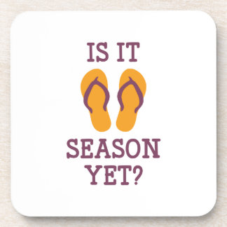 Is It Flip Flop Season Yet? Drink Coasters