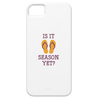 Is It Flip Flop Season Yet? iPhone 5 Case