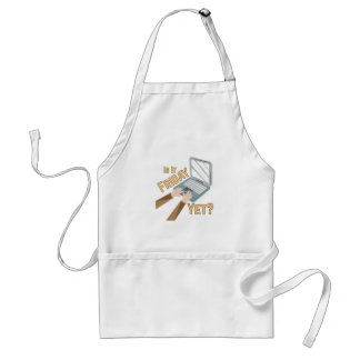 Is It Friday Standard Apron