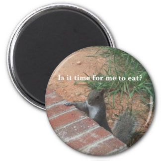 Is it time for me to eat? magnet