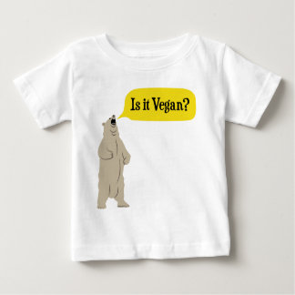 Is it Vegan? Hungry Bear Baby T-Shirt