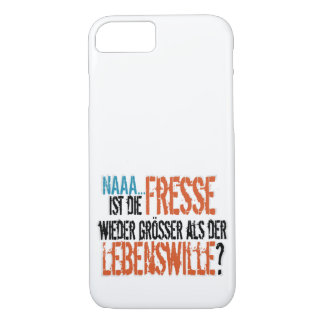Is re does eat more largely than the life will? iPhone 8/7 case