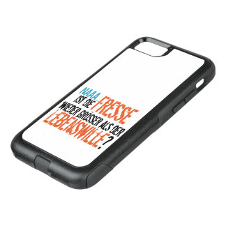 Is re does eat more largely than the life will? OtterBox commuter iPhone 8/7 case