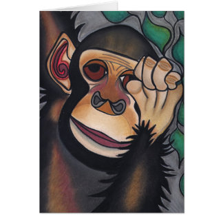 Is There A Monkey On My Back? by Robyn Feeley Card