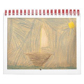 Isaac Art Calendar