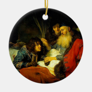 Isaac Blesses Jacob instead of Esau Ornament