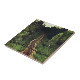 Isaac Levitan- Road Tile