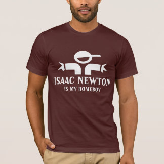 Isaac Newton t-shirt with funny quote