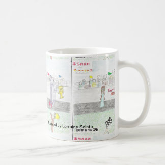 Isaac the Runner 2 coffee mug