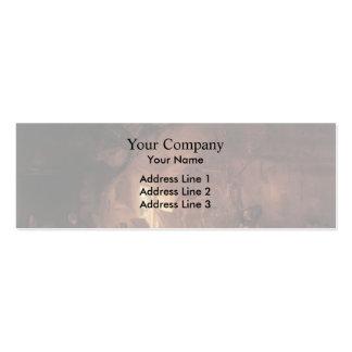 Isaac van Ostade- Farmhouse Interior Business Cards