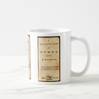 Isaac Watts Hymnal Classic White Coffee Mug