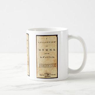 Isaac Watts Hymnal Coffee Mug