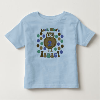 Isaac's 2nd Birthday Shirt