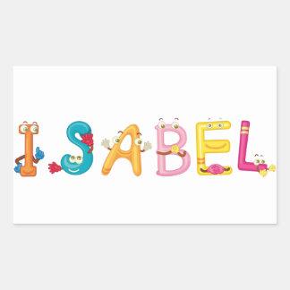 Isabel Sticker